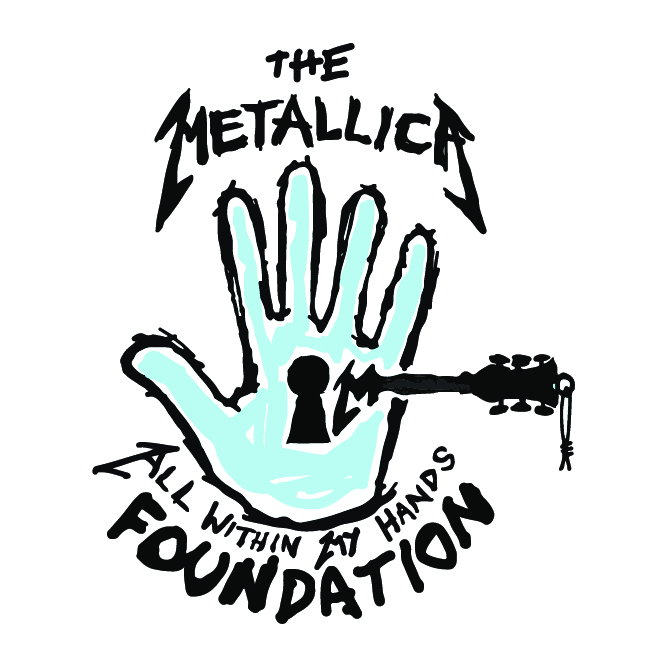 The Metallica All Within My Hands Foundation logo
